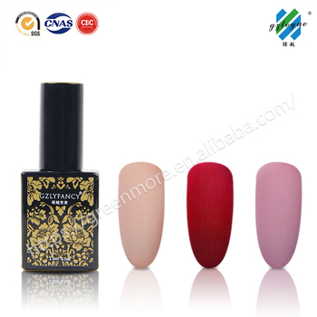 GZLYFANCY UV/LED lamp uv gel nail polish 384colors Soak Off Nail Gel China supplies