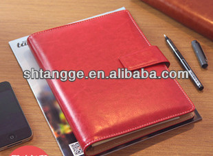 pu leather notepad covers 2014 New Fashion classic design