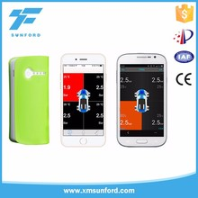 best car android phone wireless tire pressure monitoring system with 4 sensors car alarm system bluetooth tpms