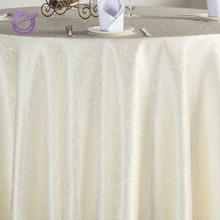 TT09081plain fancy wedding damask jacquard table cloth for wedding wholesale
