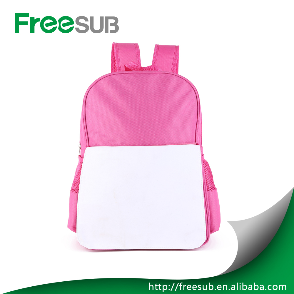 Freesub wholesale sublimation name brand school bag