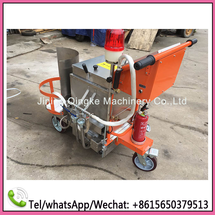 Small hand push type filling machine for Asphalt Pavement