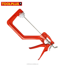 "Heavy Duty 6"" Speed Carpenter Clamp with Anti-Scratch Plastic Jaws"