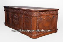 Best Quality English reproduction presidential Desk