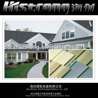 PVC vinyl siding for outside wall