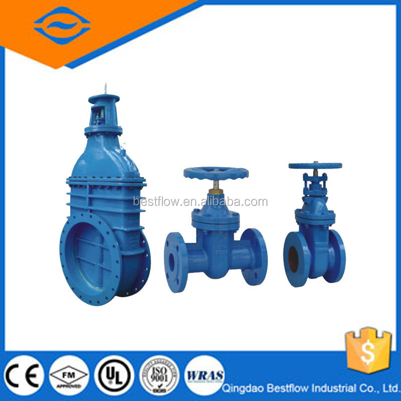 Stainless Steel Knife Gate Valve Drawing