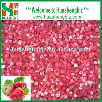 Frozen Diced Strawberry Price For Sale