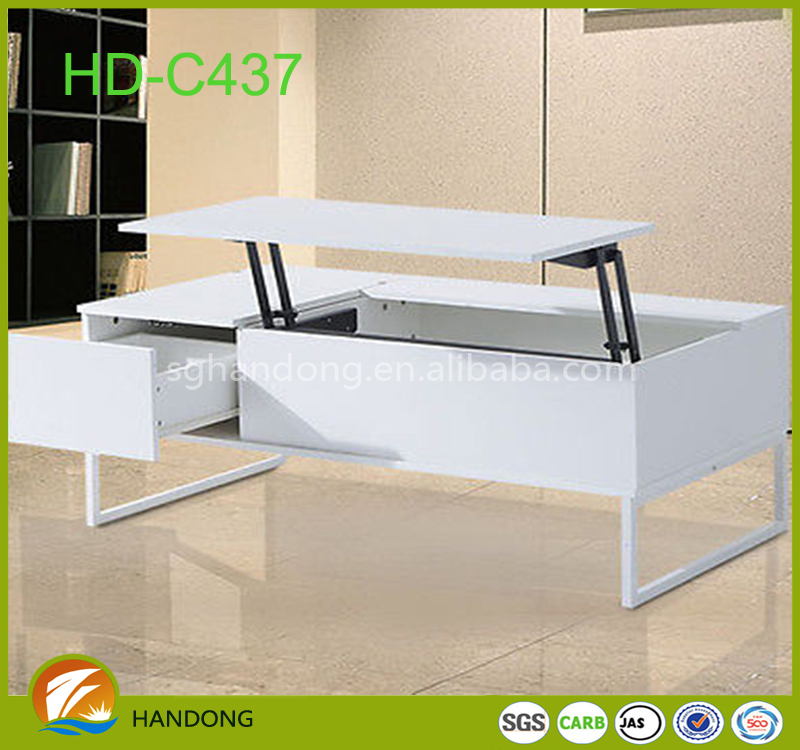 china handmade furniture lift top mdf coffee table design