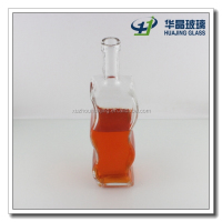 750ml 25oz unique S shape empty glass wine bottle wholesale