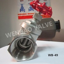 (WB-49) API 600 Metal-Seated Compact Gate Valve