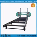band sawmill with diesel engine large log cutting horizontal band saw large wood band sawmill