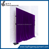 Aluminum wedding backdrop stand, pipe and drape for sale