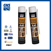 promotion pu foam silicone anti-mildew sealant