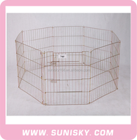 SPC-801 New brand wire mesh pet pen outdoor metal dog pen for sale