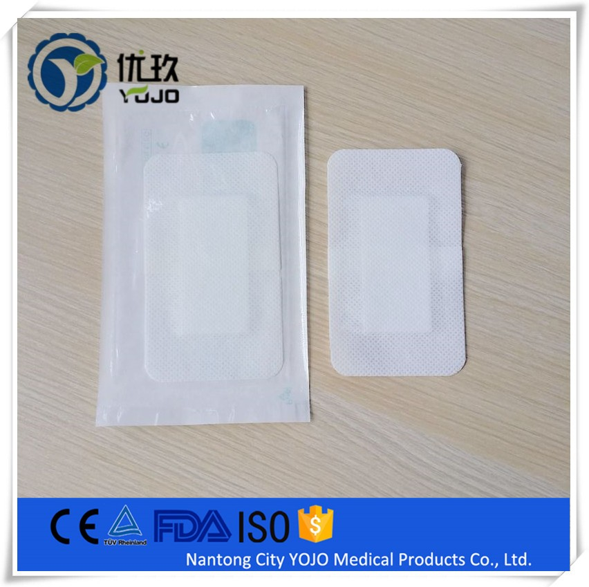 China Supplier Medical Breathable Antiseptic Adhesive Dressing