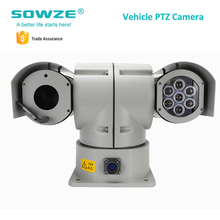 New High Quality Infra Red Intelligent Waterproof Roof Vehicle Mounted Car Camera 30x Optical Zoom PTZ IP Camera