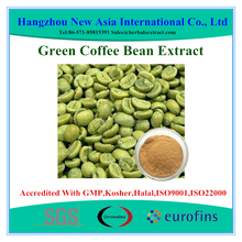 free sample green coffee bean extract powder Chlorogenic Acid 50% HPLC