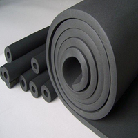 1-50mm thickness Thermal Insulation vulcanized Foam Rubber Sheet