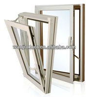 guangzhou aluminum double glazed tilt and turn windows pivot hinge
