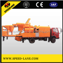 Best quality and price truck mounted concrete mixer pump for sale
