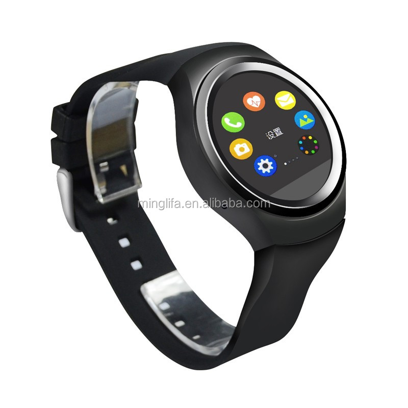 BT4.0 SIM Card Slot GSM GPS Smart Watch Phone /Mobile Phone Smart Wrist Watch With SOS Heart Rate function