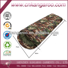 spring or summer outdoor thickened camouflage sleeping bag