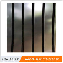 Transparent Holographic PVC Coated Overlay with High Magnetic Strip for ID Cards
