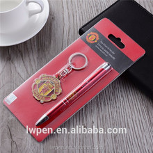 Cheap items to sale keyring retractable stylus pen business gift