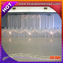 ESI modern chuppah, backdrop pipe and drape for wedding, show, events