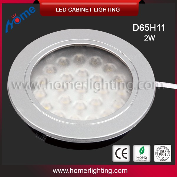 Ultrathin low voltage under cabinet lighting