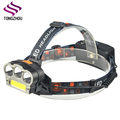 Super Bright Waterproof 30000 lumens 6 Modes LED Headlamp Flashlight USB Rechargeable