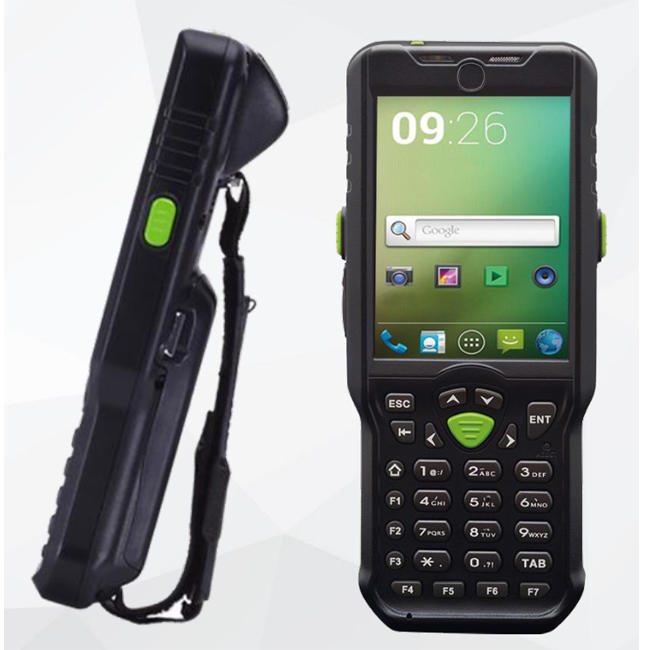 Rugged IP65 OBM-A33 1D 2D Android PDA 3g wifi network connection for Warehouse Management System