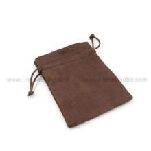 high quality Exquisite cute retro pen suede bag