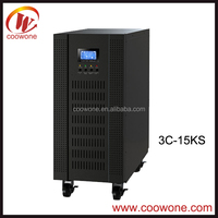 Home Use DSP System 3 Phase 3 Phase High Frequency 10KVA Online UPS