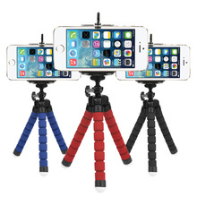 Mini Flexible Sponge Octopus Tripod Holder Mount Adapter for Mobile Phone Smartphone Tripod , Go pro Camera DSLR Mount