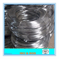 2016 high quality hot dipped galvanized steel wire