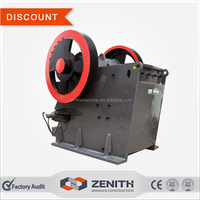 High efficiency rock impact crushing machine