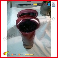 Leather Wine Liquor Bottle Carrier for Wholesale