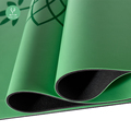 Quality ultra-grippy polyurethane natural rubber non slip pu yoga mat manufacturer