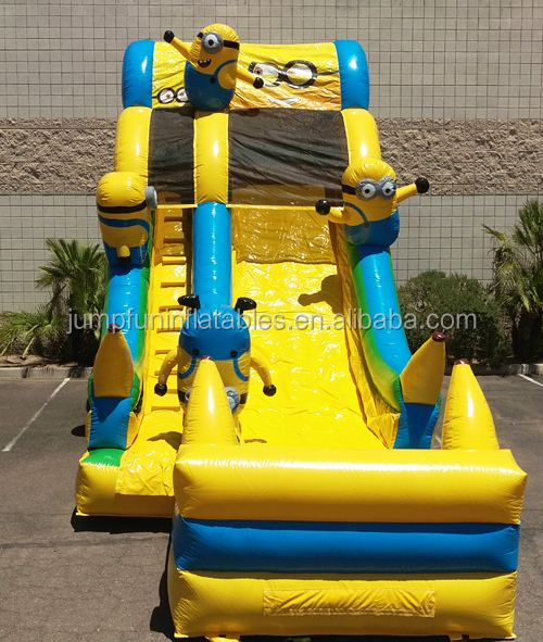 hot cartoon water slide giant inflatable JFIS-1307
