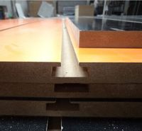 mdf wave pattern wall panels/melamine laminated mdf board/saw blade for mdf