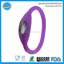waterproof wristband ion silicone sport watch