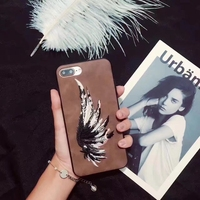 Mobile Phone Accessories, Wing Printed Tpu Case Mobile Phone Case For Iphone 7 Plus