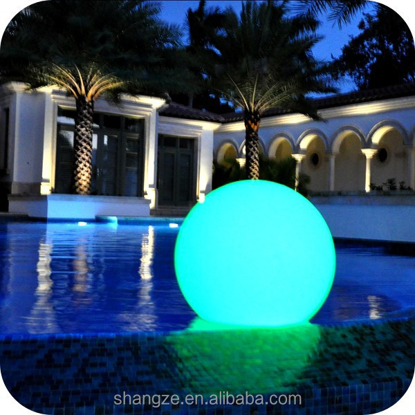 Jardin ext rieur led boule lumineuse lampe herbe balle d for Boule eclairage exterieur jardin