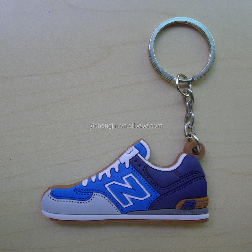new balance running sport shoes men shaped keychains