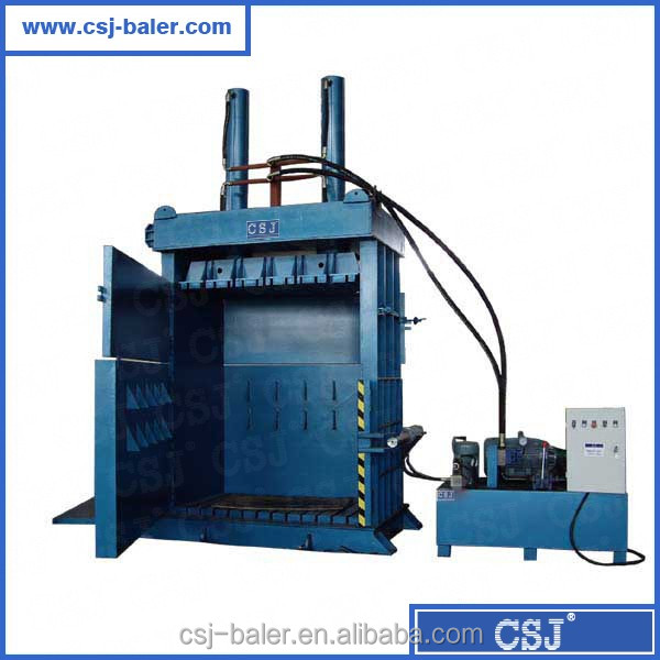Hot saling vertical dedicated tire baler machine with professional manufacturer experience