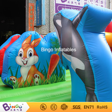 Amusement park equipment 7m inflatable bounce game for children