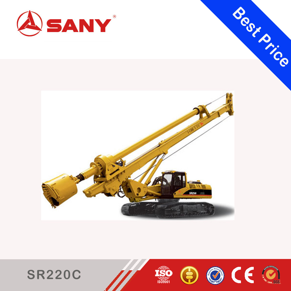 SANY SR150C 74 ton Super Performance Hydraulic Rock Rotary Core Drilling Machine for Hot Sale