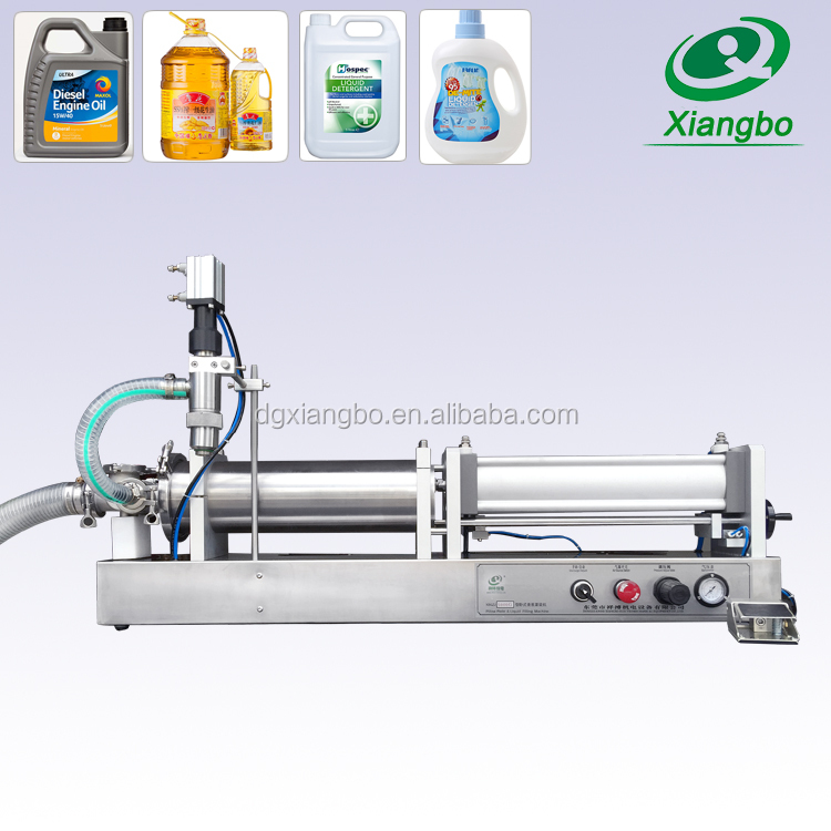 Factory price lotion liquid soap PET bottle filling machine