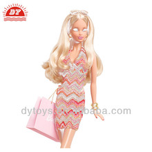 ICTI factory 2014 plastic women fashion sexe baby doll